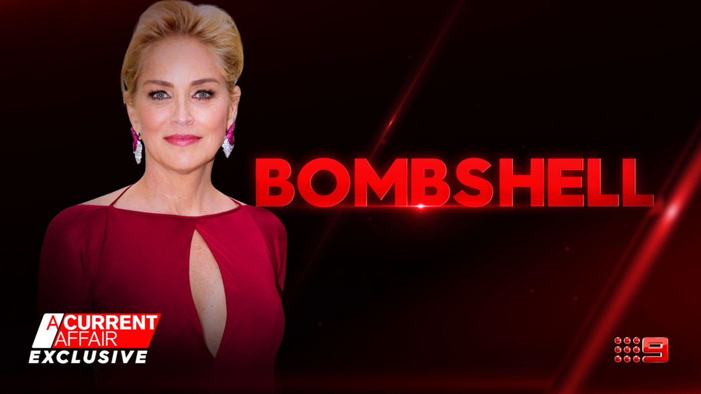 Sharon Stone's exclusive TV interview with A Current Affair - part one
