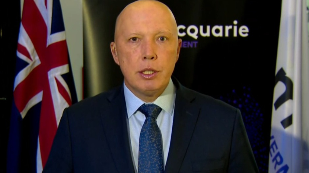 Peter Dutton says it's safe for under 60s to get a second AstraZeneca shot