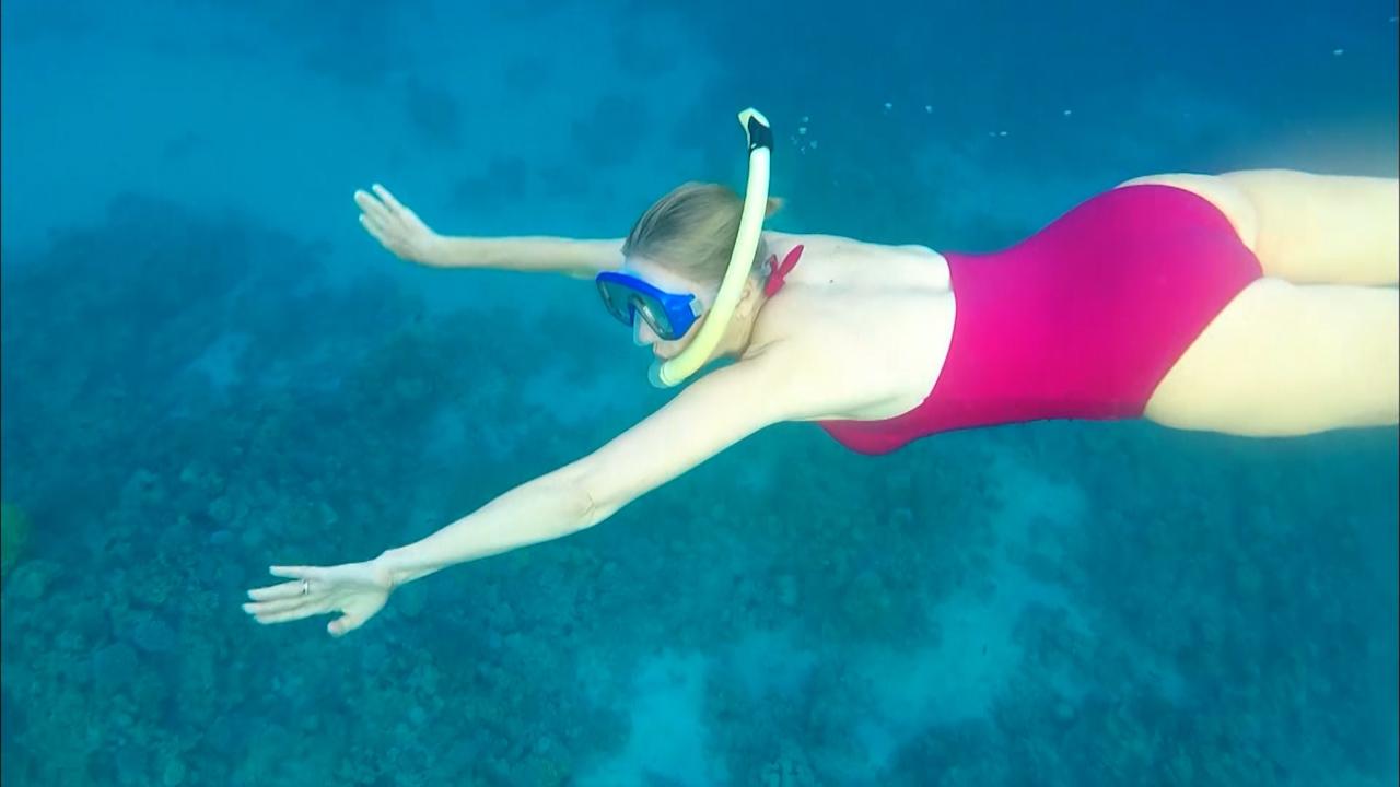 Snorkelling in Jordan
