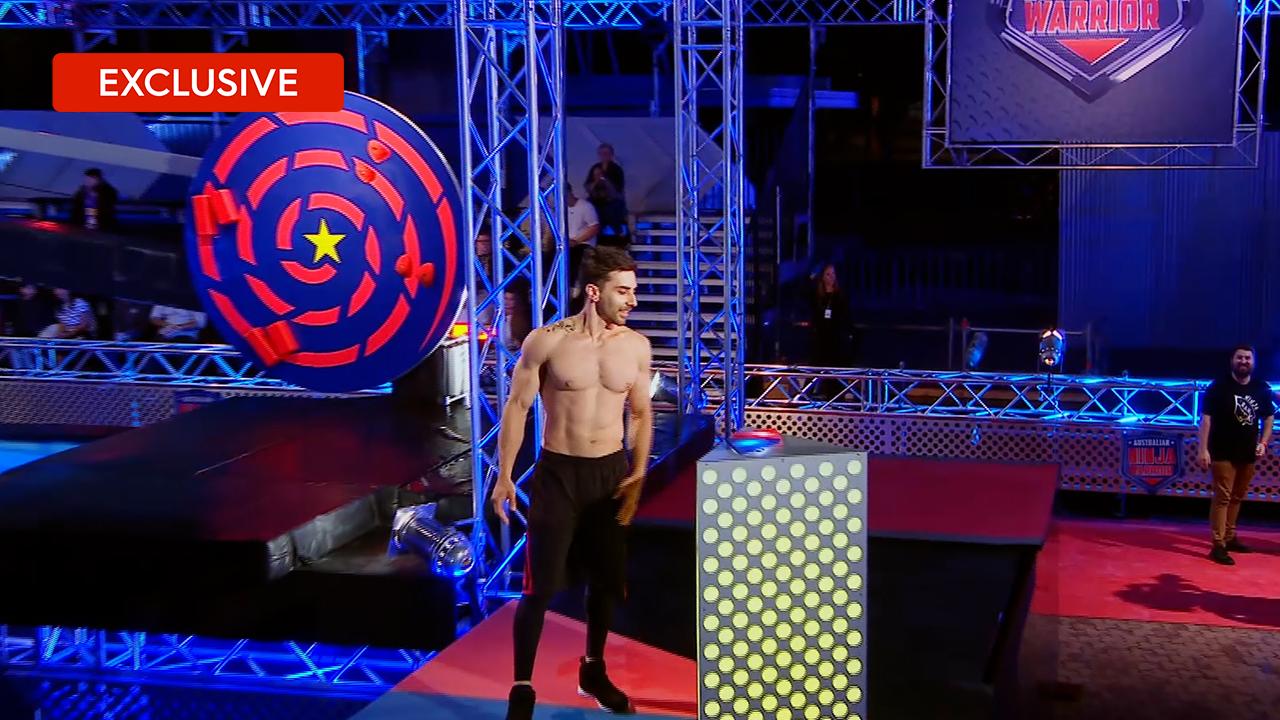 Unseenrun: FrankCrispo struggles with the mini trampoline