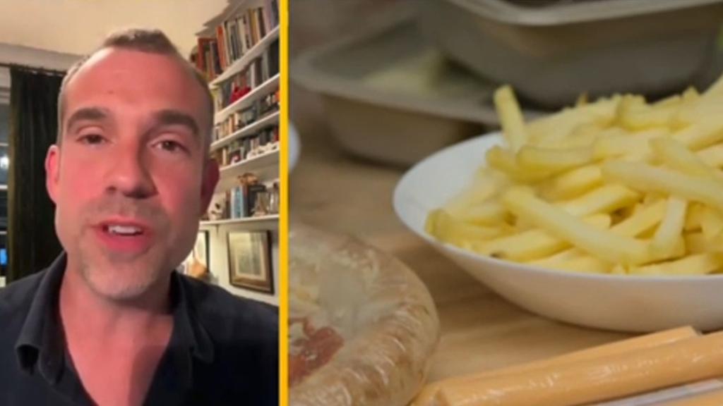 Doctor swaps his healthy diet for junk food