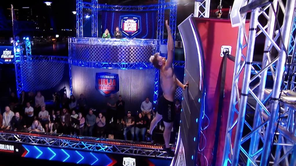 Ben Polson and Josh O'Sullivan take on the Rising Mega Warped Wall