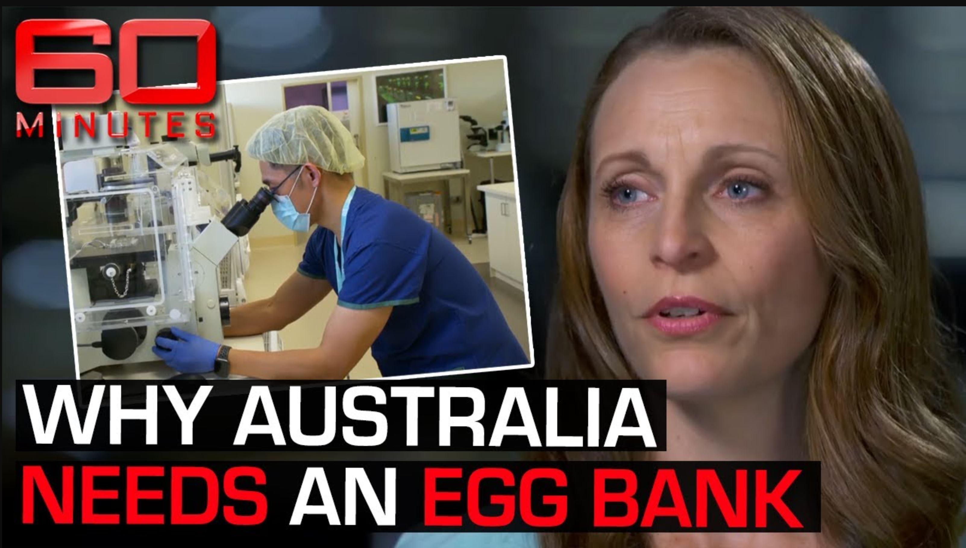 """It's not okay!"" Why Australia desperately needs an egg bank"