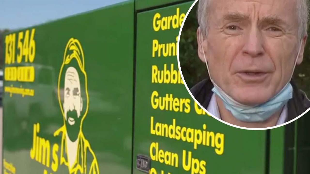 Jim's Mowing founder fights to have Sydney lockdown rule lifted