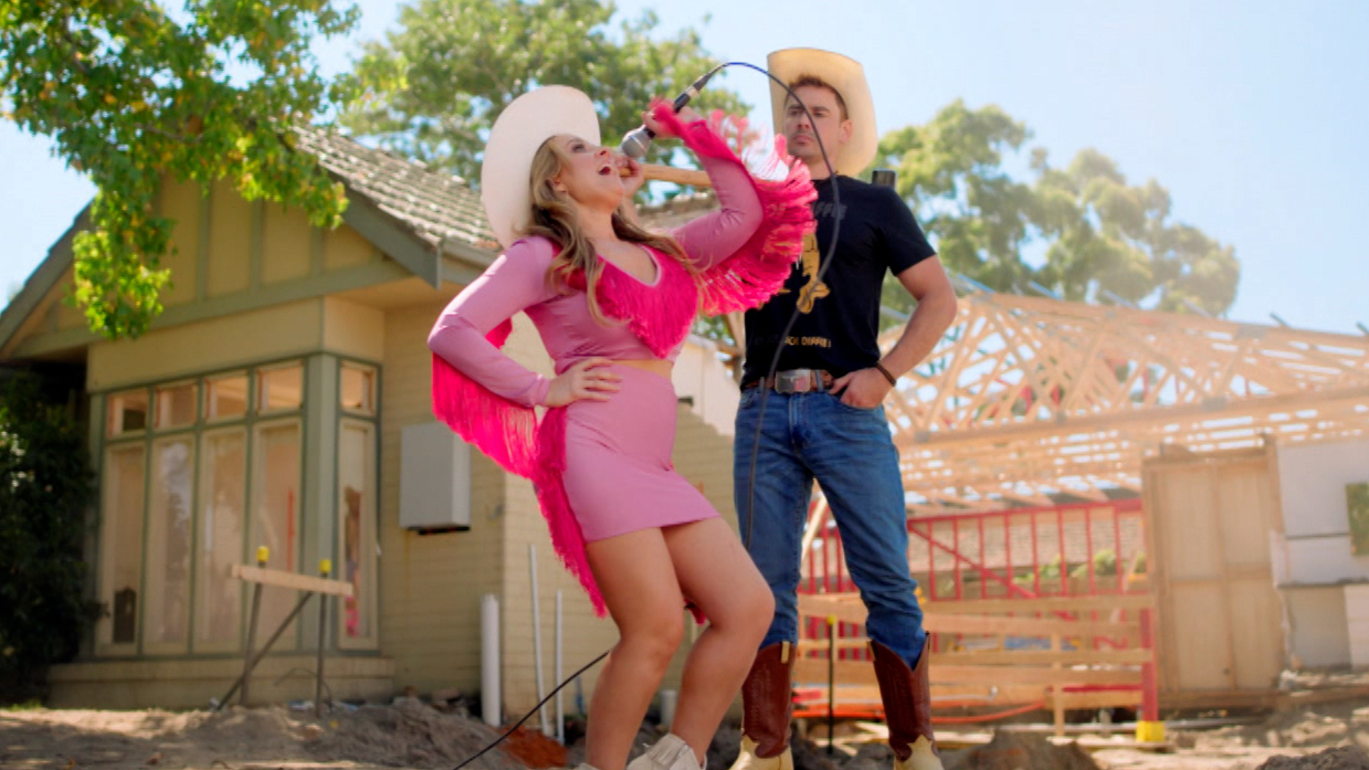Country couple Kirsty and Jesse are ready to take on The Block