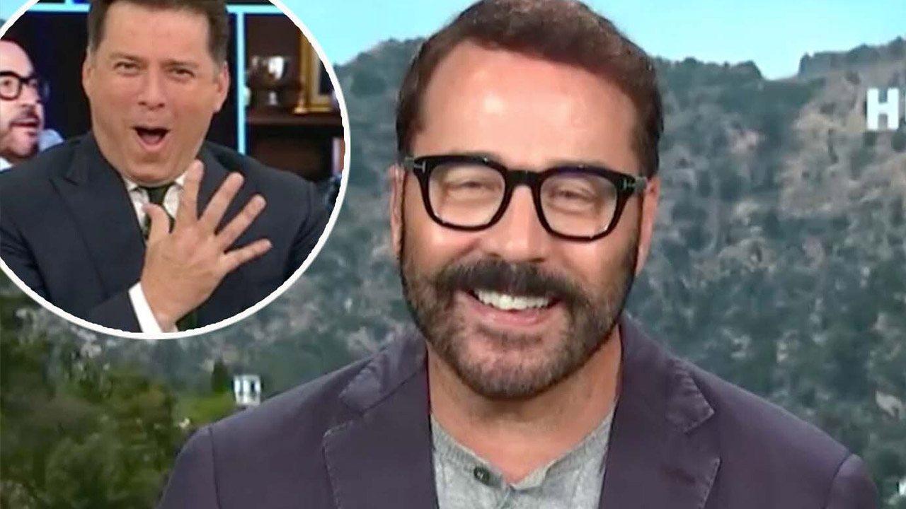 Karl 'fan-girls' over actor Jeremy Piven, apologises for 'embarrassing' run-in