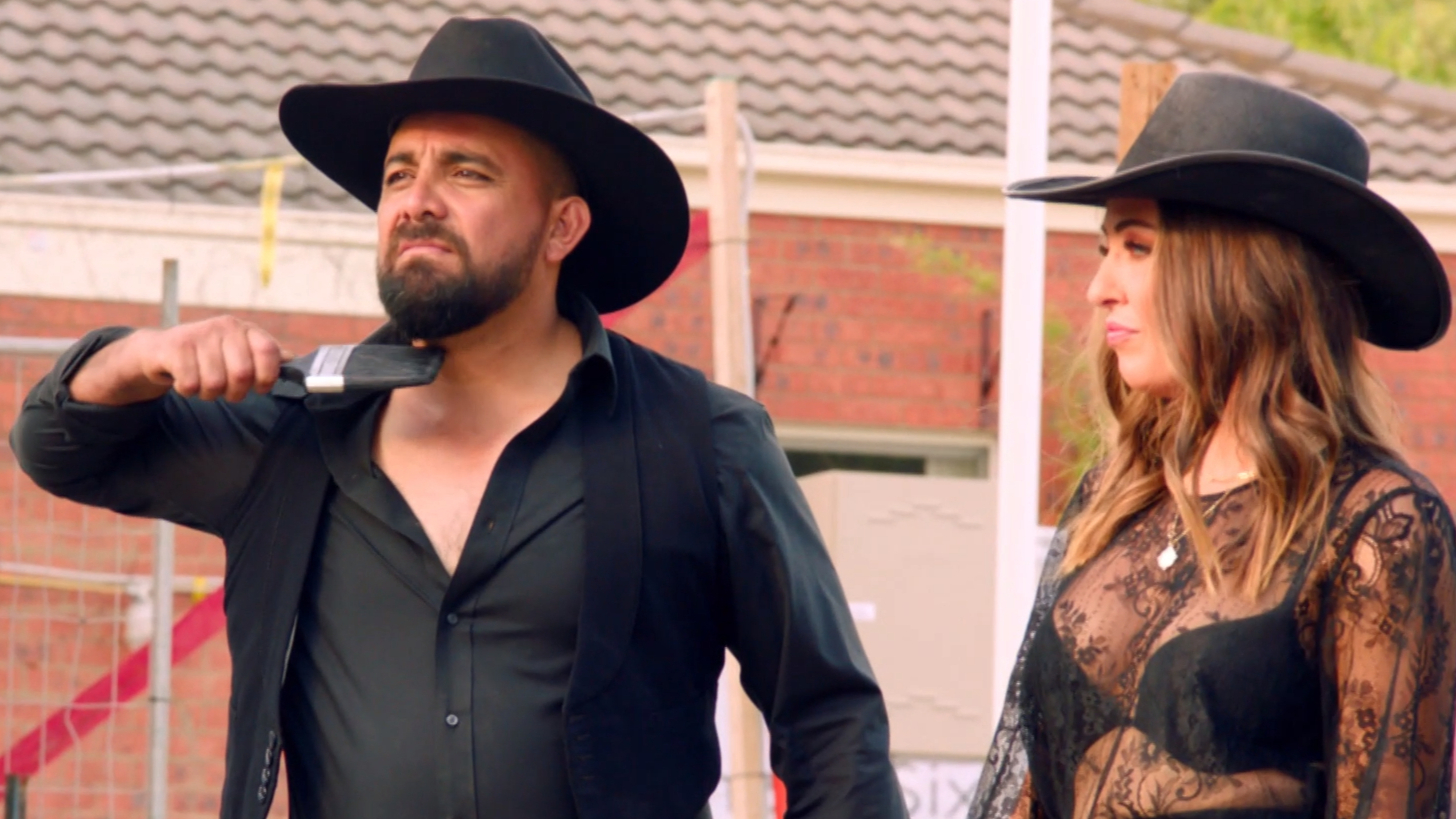 The Block's 'most controversial couple ever' Ronnie and Georgia are back