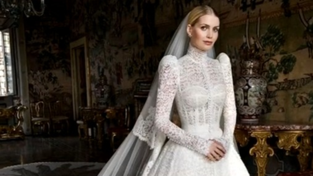 Princess Diana's niece weds in lavish ceremony