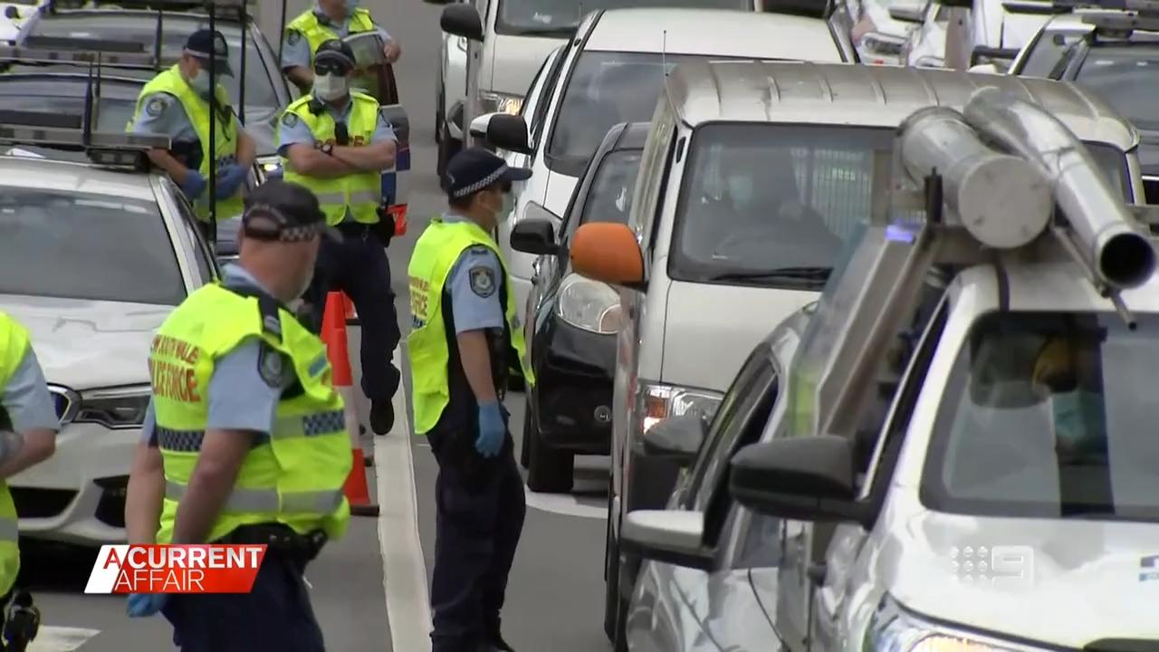 The NSW Police effort to stop lockdown protestors