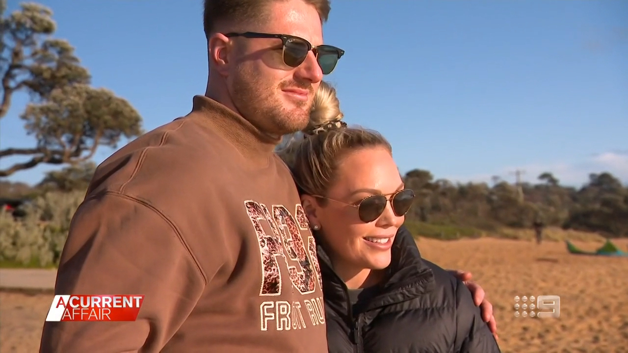 Expecting controversial MAFS couple reveal they've picked names for twins