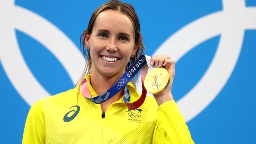 Emma McKeon's family react to record-breaking wins