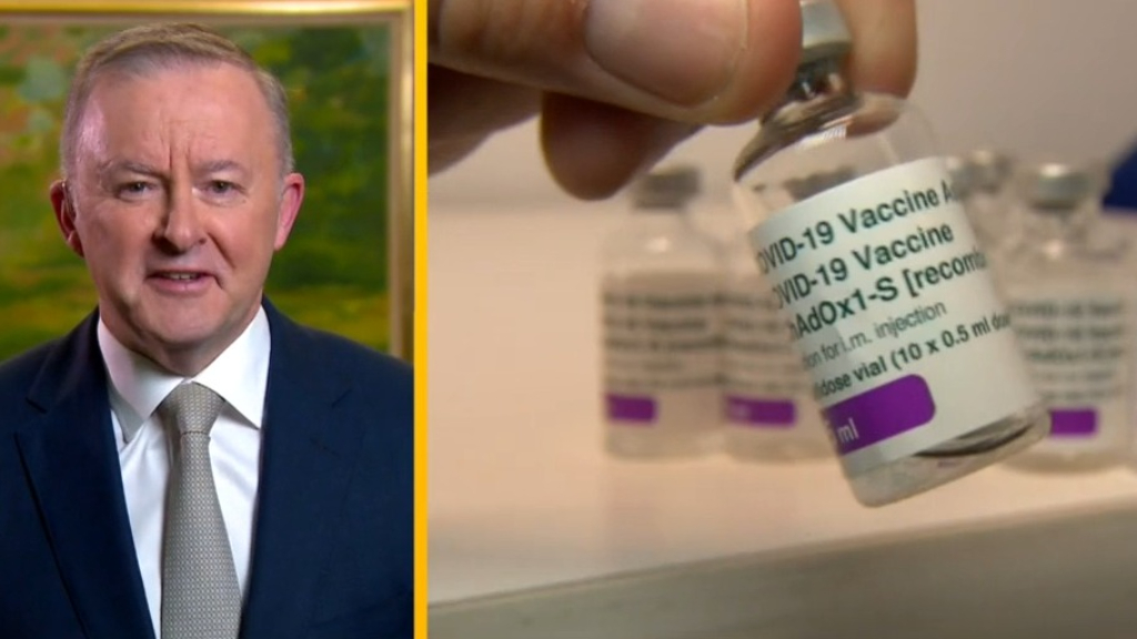 Vaccine payments 'something we need to do', Anthony Albanese says
