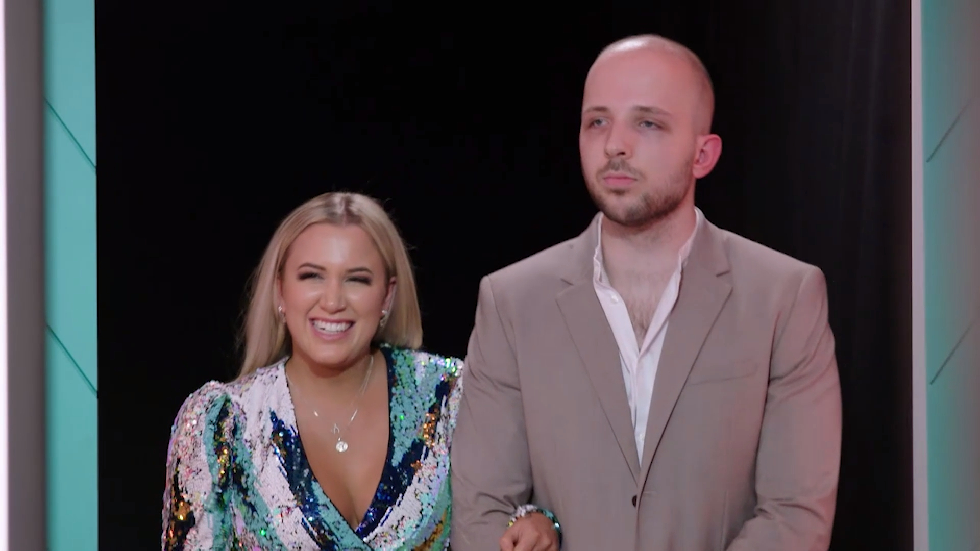 Alexander and Eliza explain why they should win Beauty and the Geek