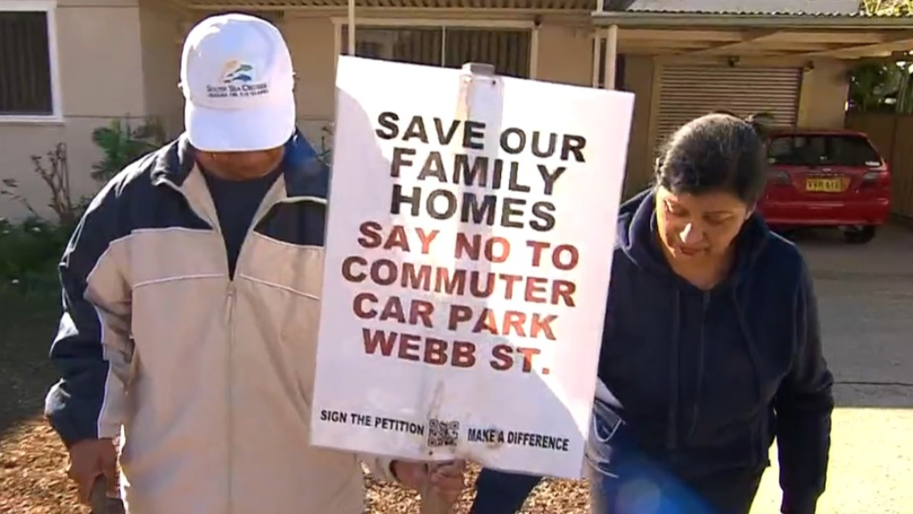 Families forced from homes in pandemic - to make way for car park