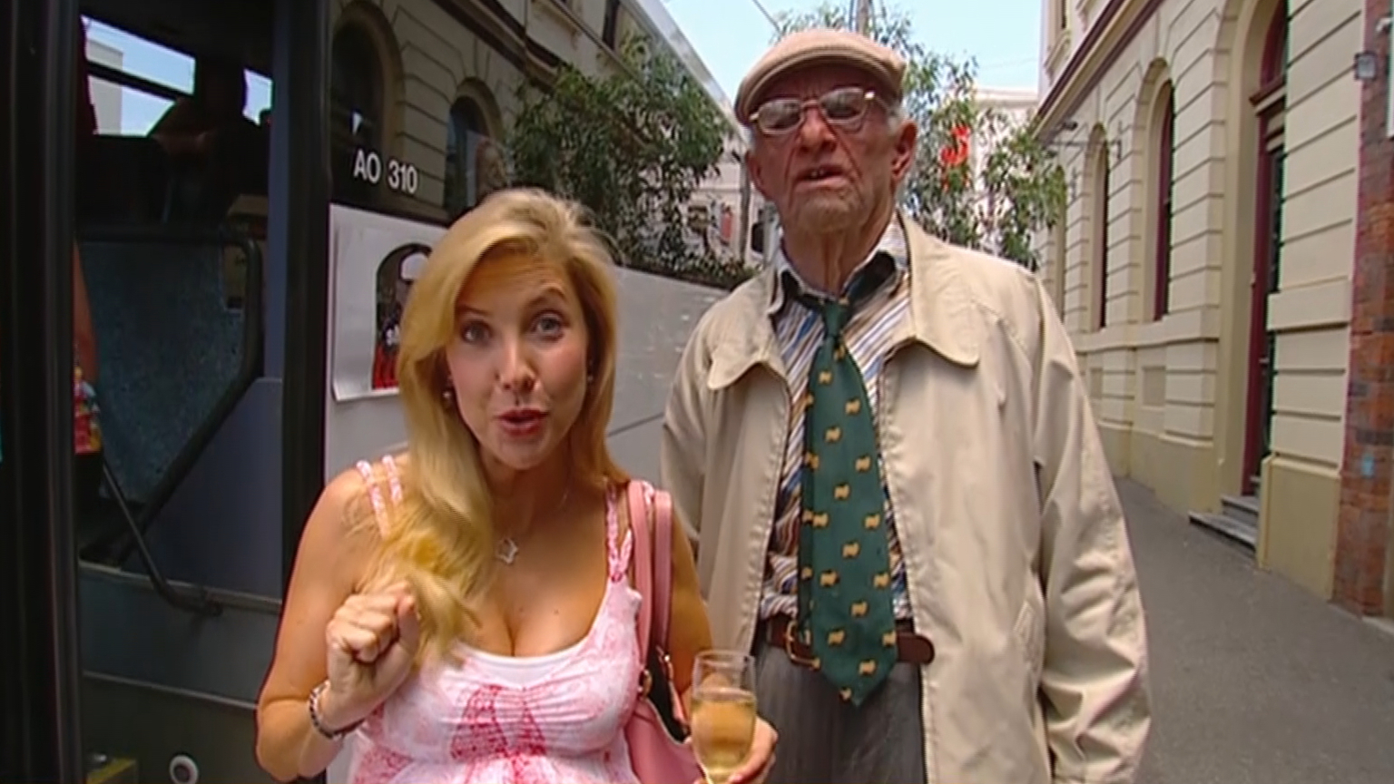 Getaway Rewind: Catriona Rowntree takes 'Uncle Des' shopping