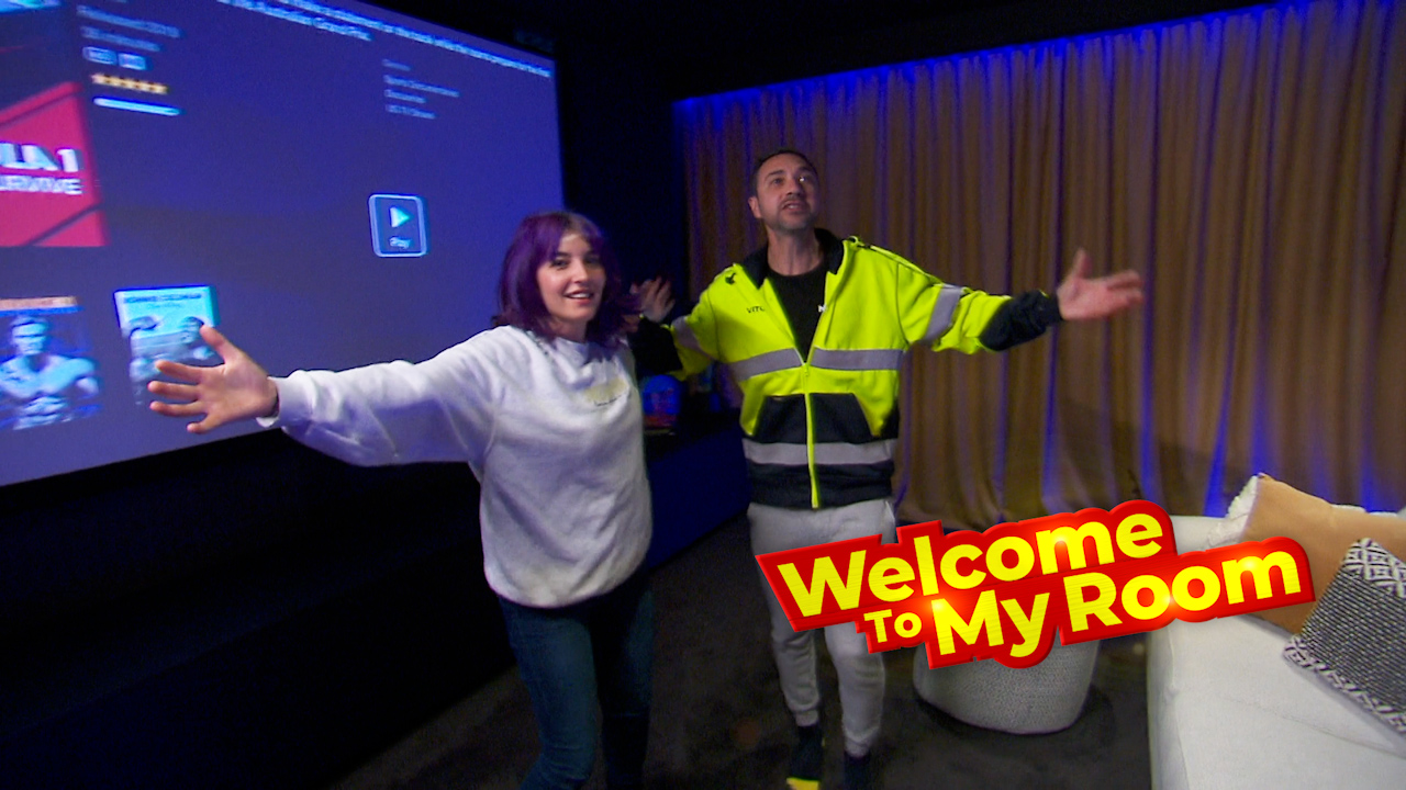 Welcome To My Room: Tanya and Vito reveal how many people their home cinema seats