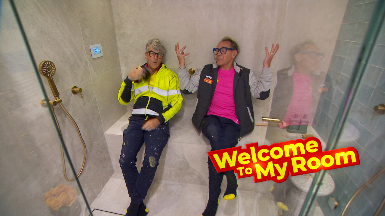 Welcome To My Room: Mitch and Mark reveal the hidden amenities in their day spa