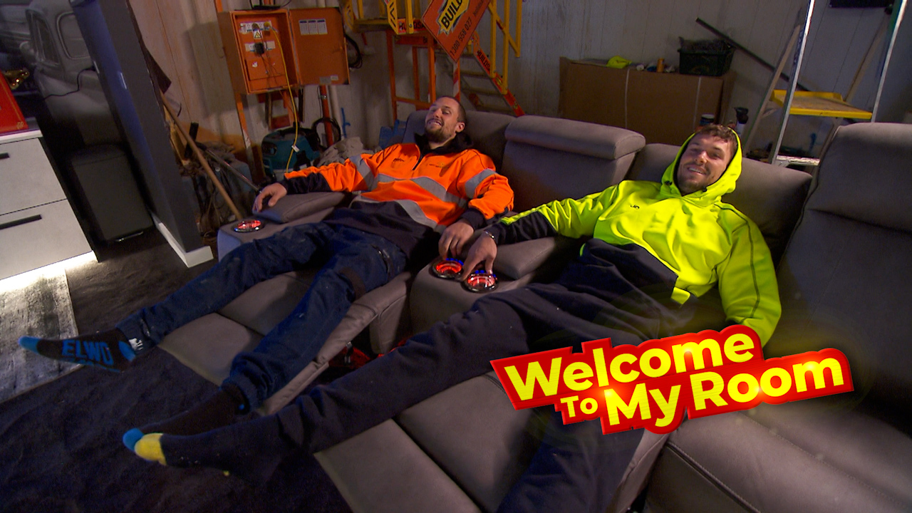 Welcome To My Room: Josh and Luke reveal how expensive their home cinema sound system is