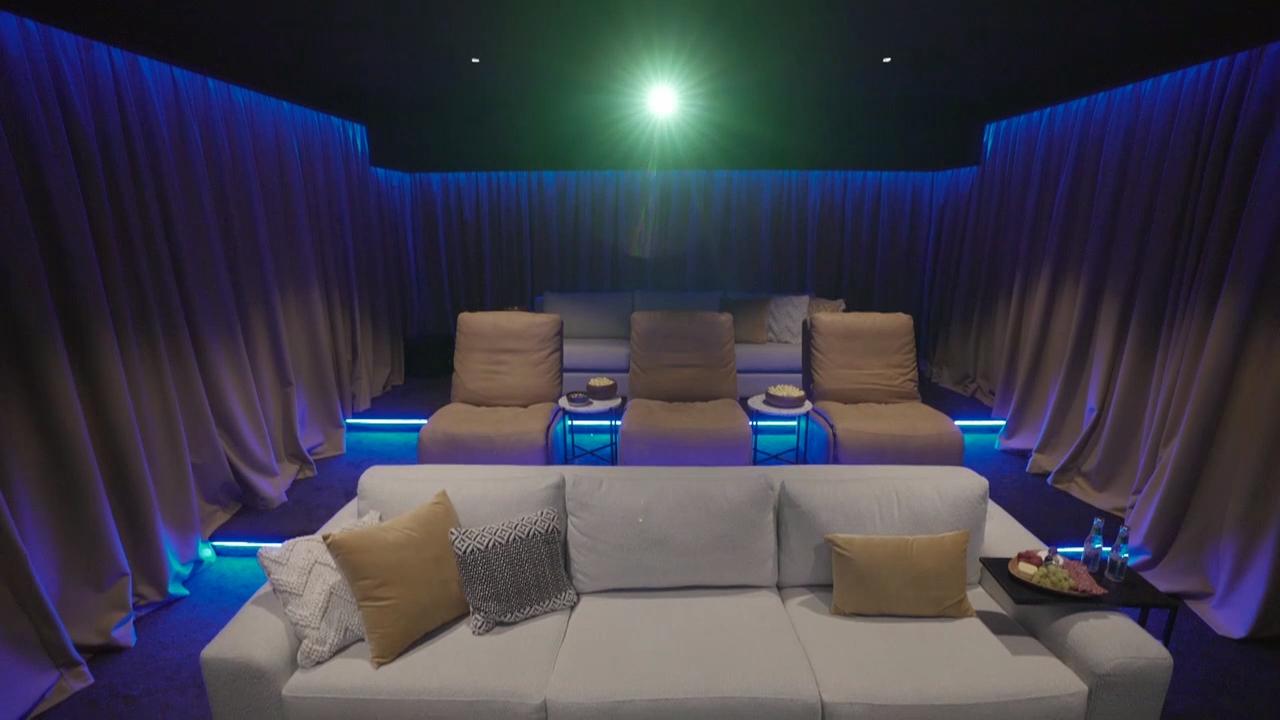 Tanya and Vito's Home Cinema revealed