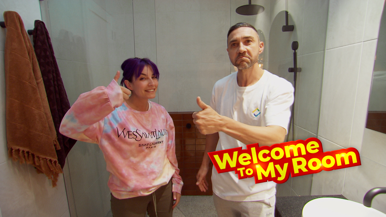 Welcome To My Room: Tanya and Vito highlight the rare feature in their master ensuite