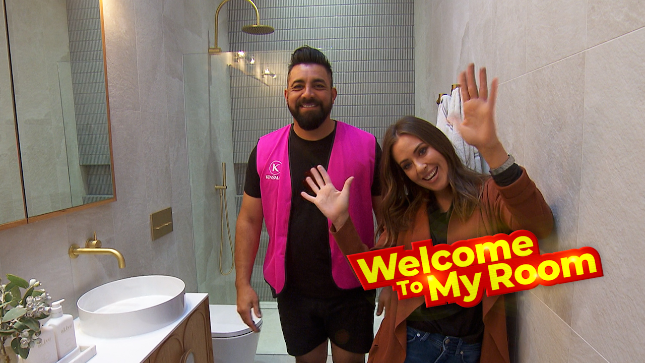 Welcome To My Room: Ronnie and Georgia point out the hero of their master ensuite