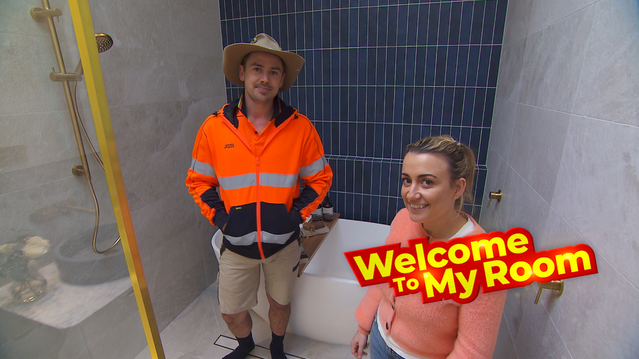 Welcome To My Room: Kirsty and Jesse reveal where to find extra storage in their master ensuite