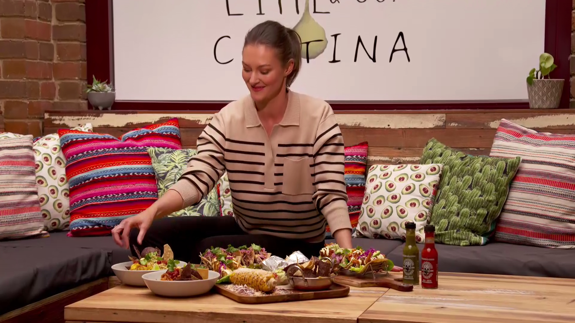 Madeline indulges in a Mexican feast in Inverloch