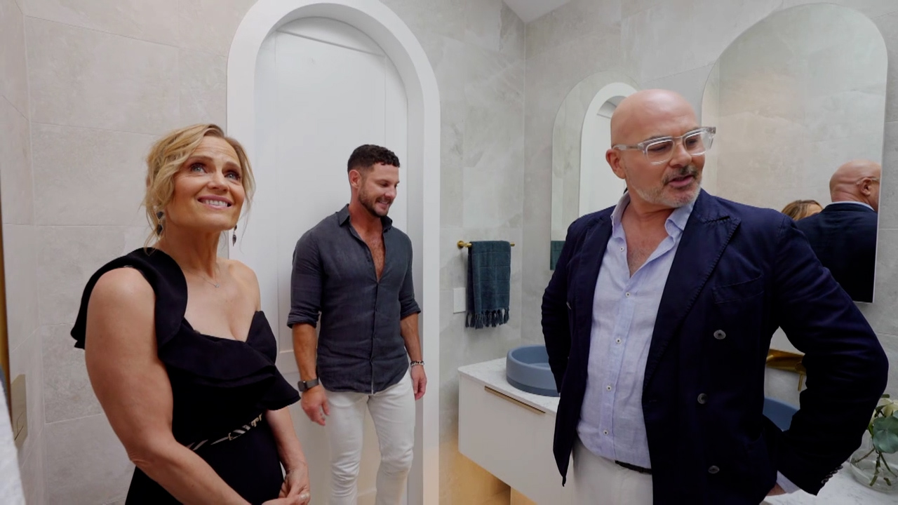 Kirsty and Jesse's Master Ensuite revealed