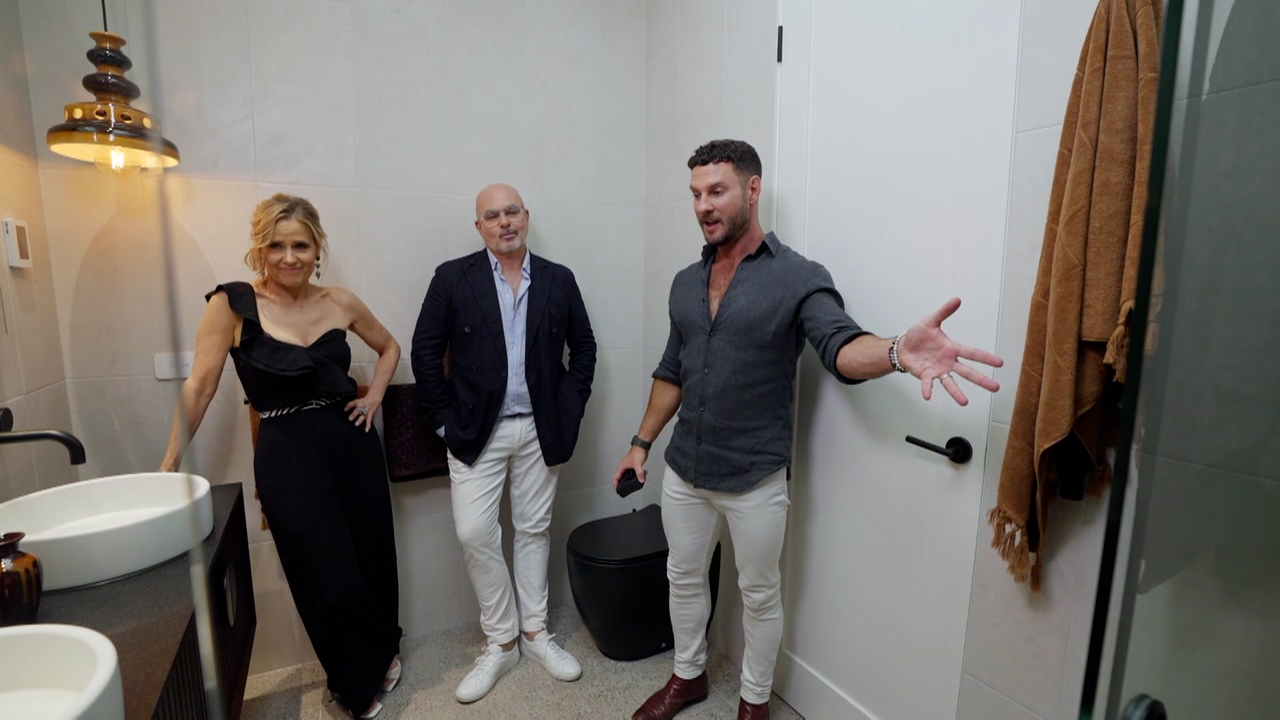 Tanya and Vito's Master Ensuite revealed
