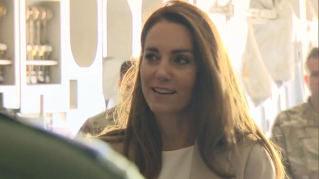 Duchess of Cambridge makes royal return