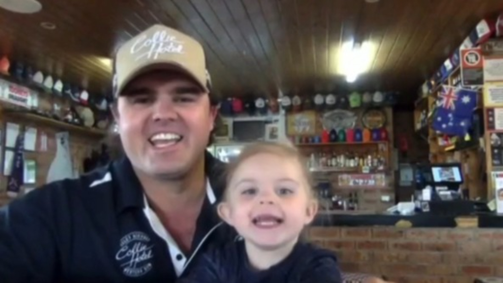 The daddy, daughter publicans melting hearts