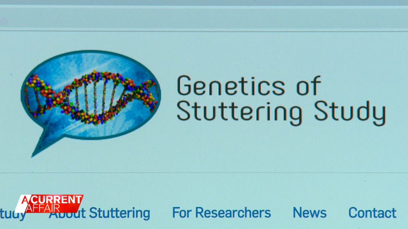 World-first stutter study uses saliva to shed light on its origins.