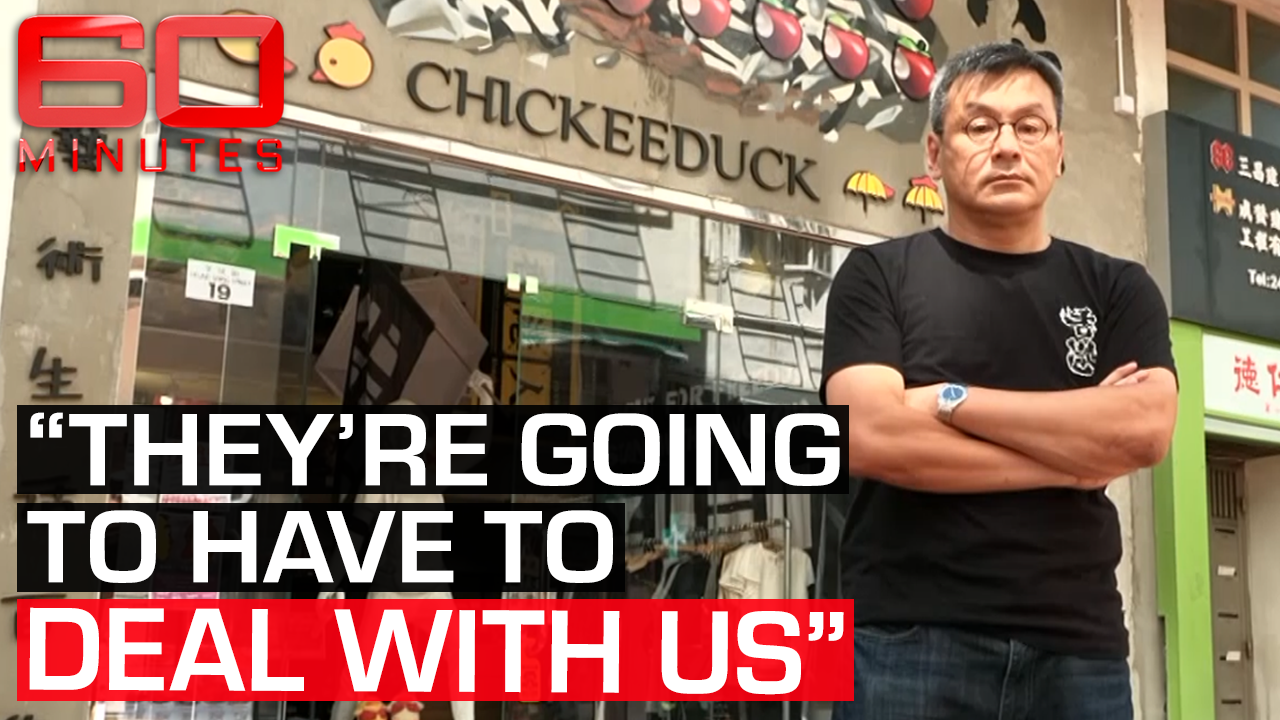 Blacklisted business owner stands up to Chinese authorities