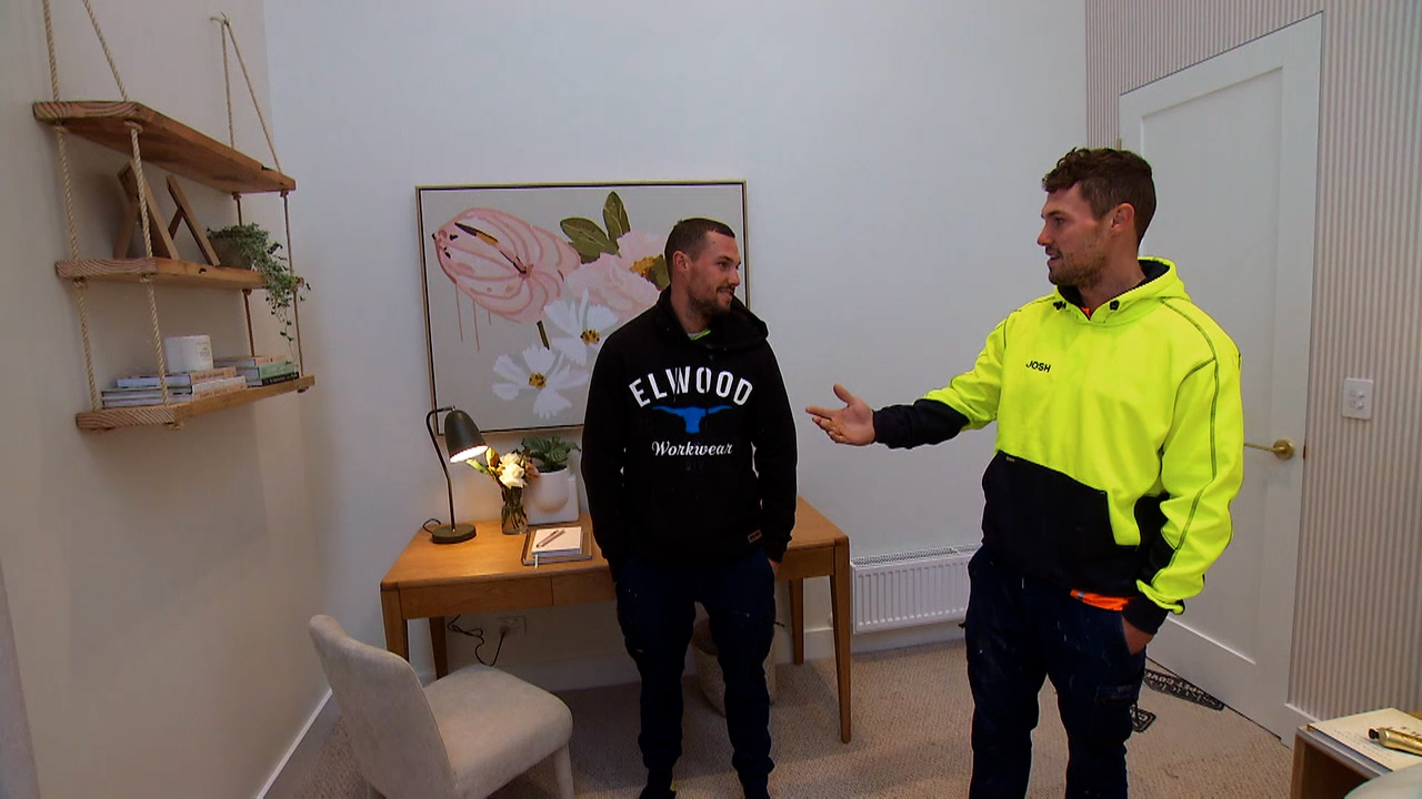 Ronnie and Georgia's winning room get mixed feedback from the teams