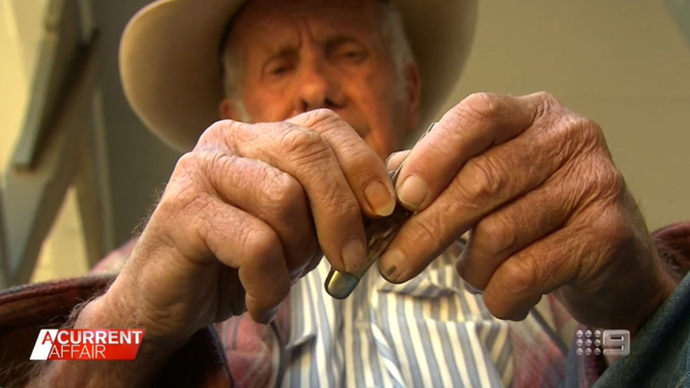 Aussie bushman's shock over fine for carrying pocket knife.