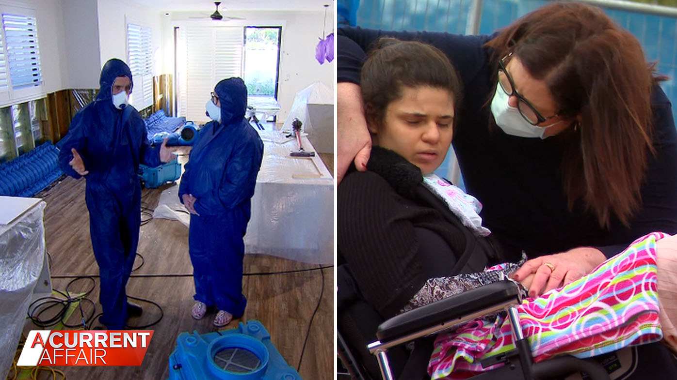 New development in disabled woman's toxic house battle.