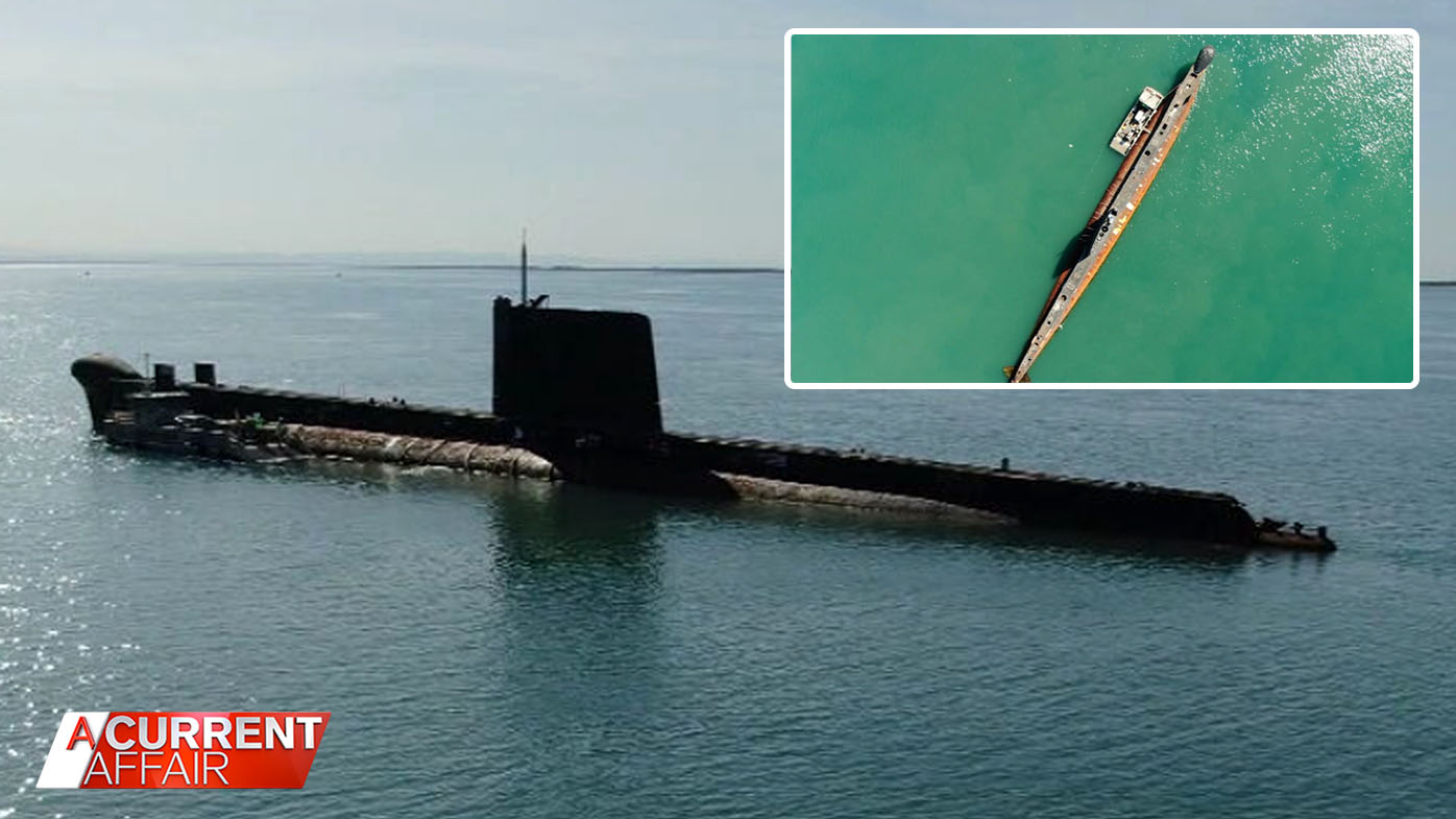 The raging battle to save Cold War sub from becoming scrap metal.