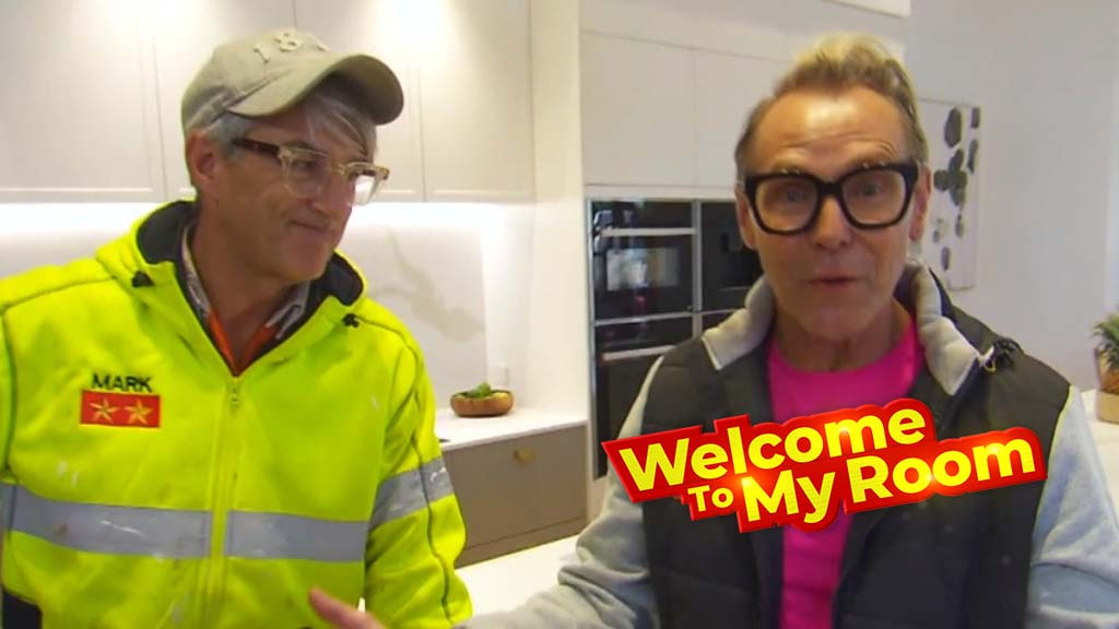 Welcome To My Room: Mitch and Mark give a tour of 'welcoming but dramatic' kitchen