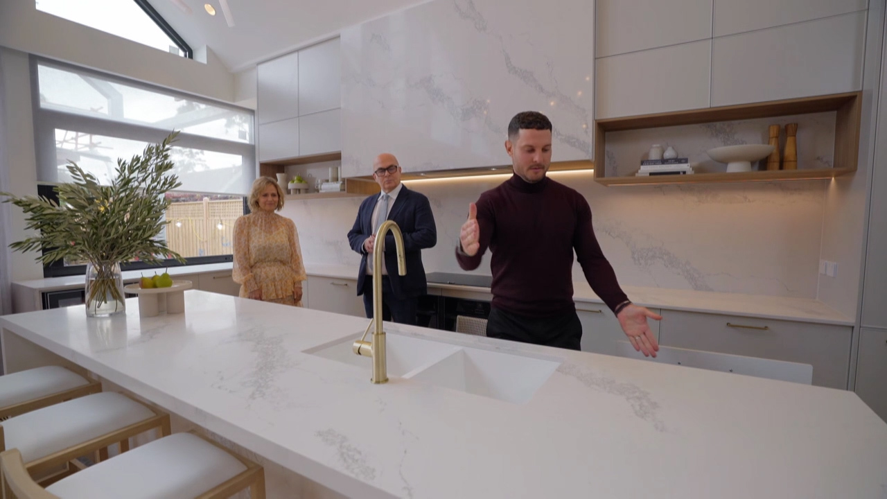 Ronnie and Georgia's Kitchen revealed