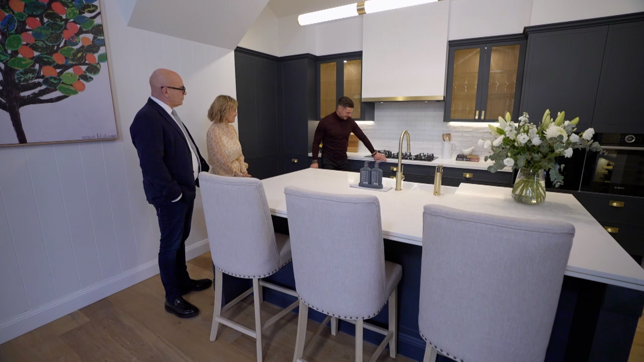 Kirsty and Jesse's Kitchen revealed