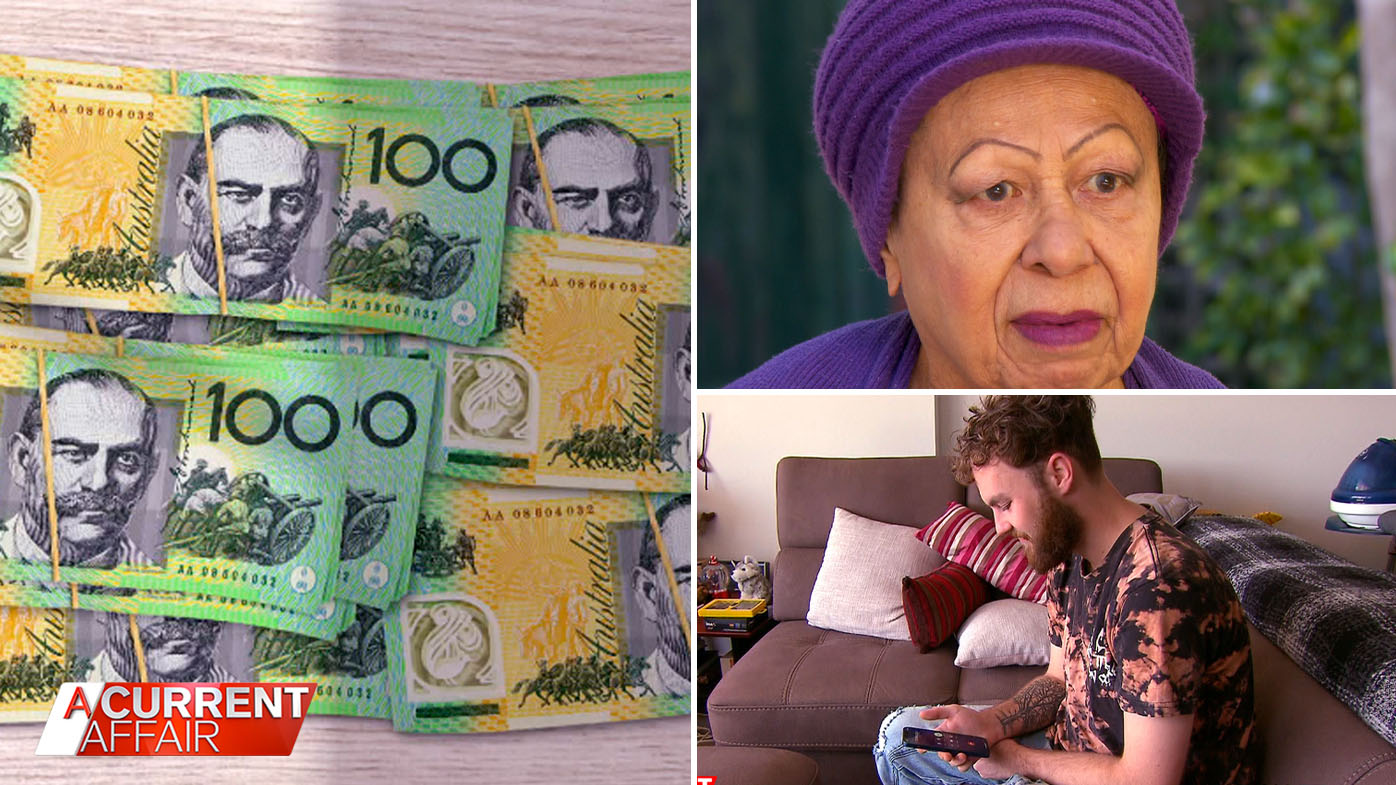 Strapped for cash Aussies' loan warning.