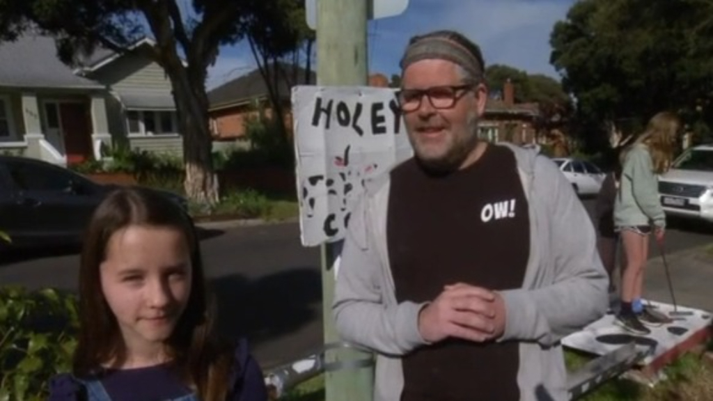 Melbourne dads' touching gesture for community