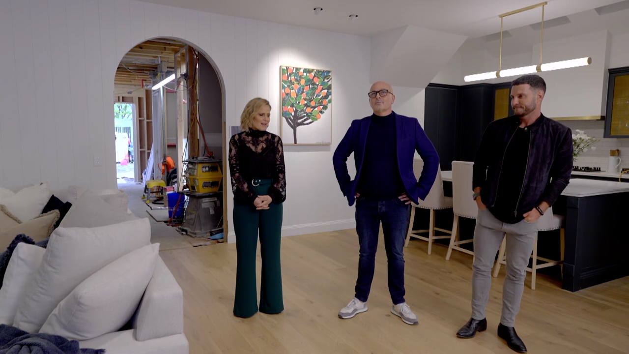 Kirsty and Jesse's Living and Dining Room revealed