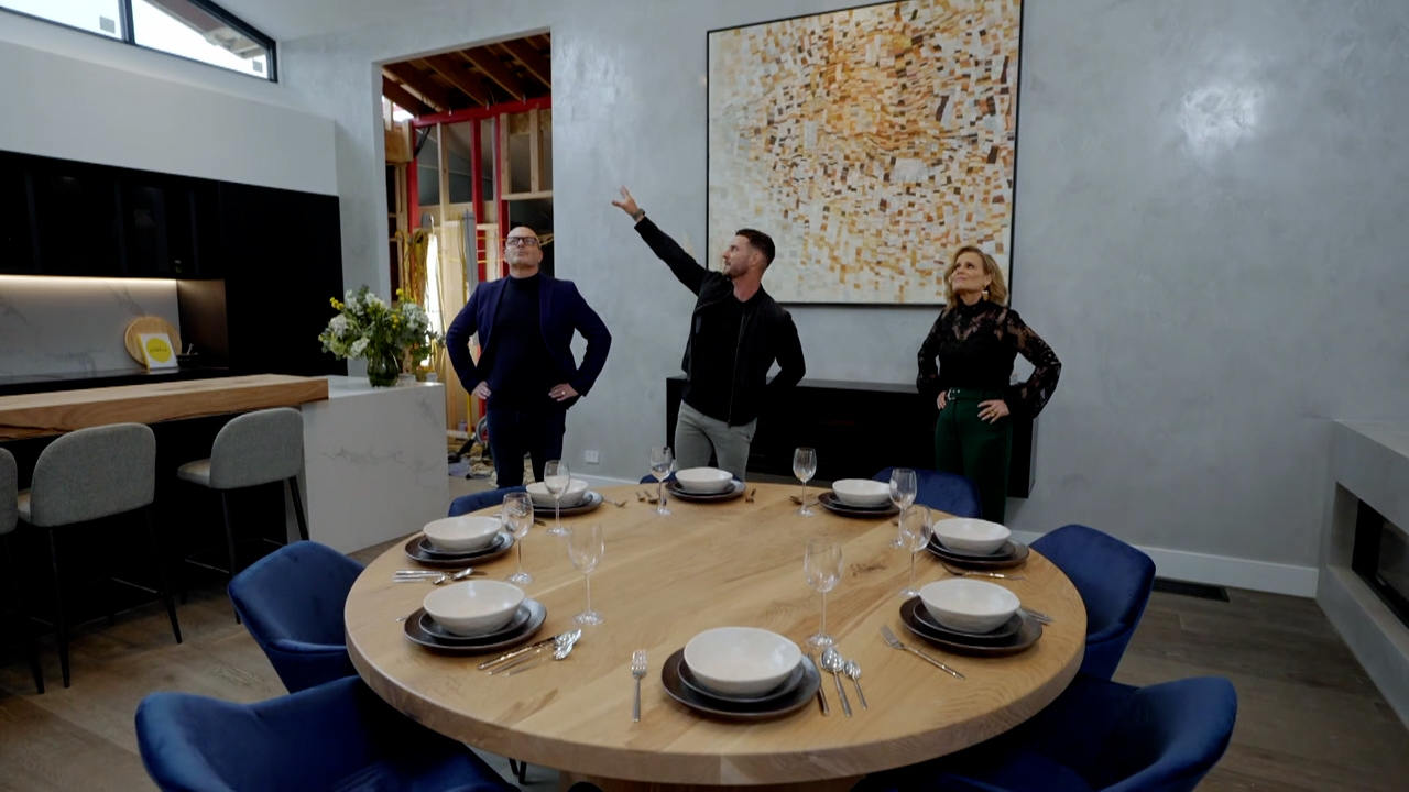 Josh and Luke's Living and Dining Room revealed