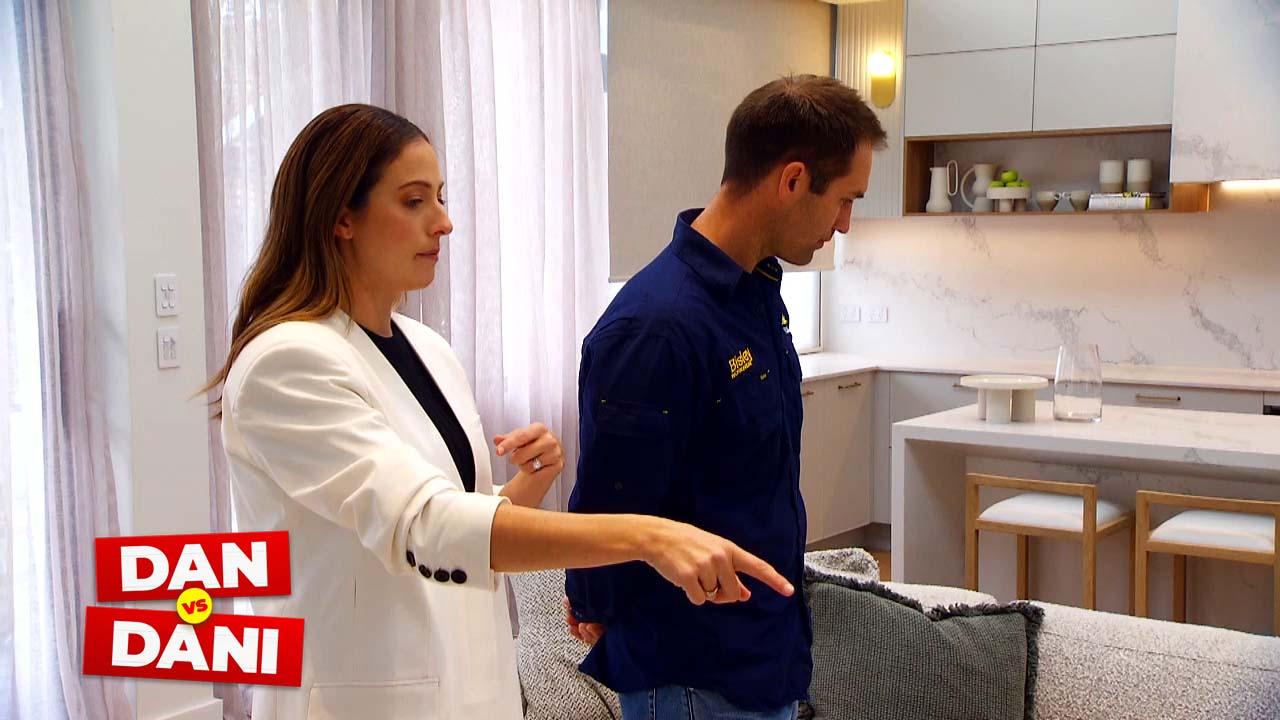 Dan vs Dani: Dani is concerned one house won't sell