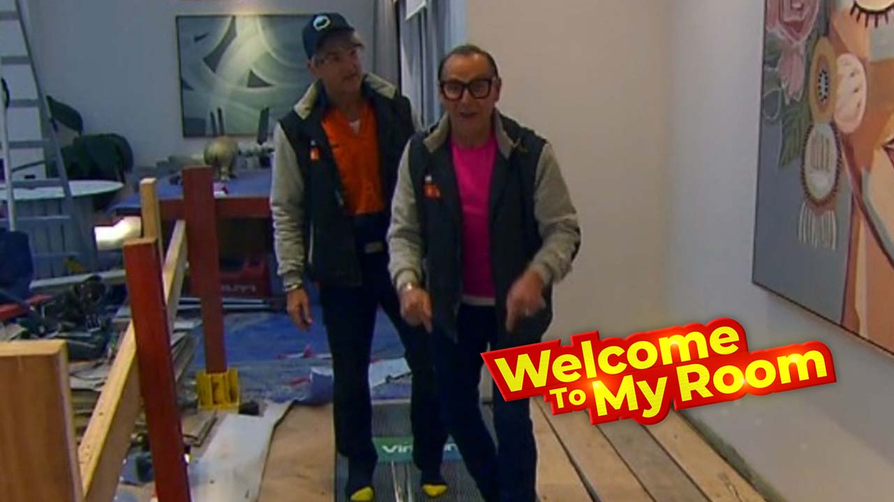 Welcome To My Room: Mitch and Mark reveal hidden details about their hallway and laundry