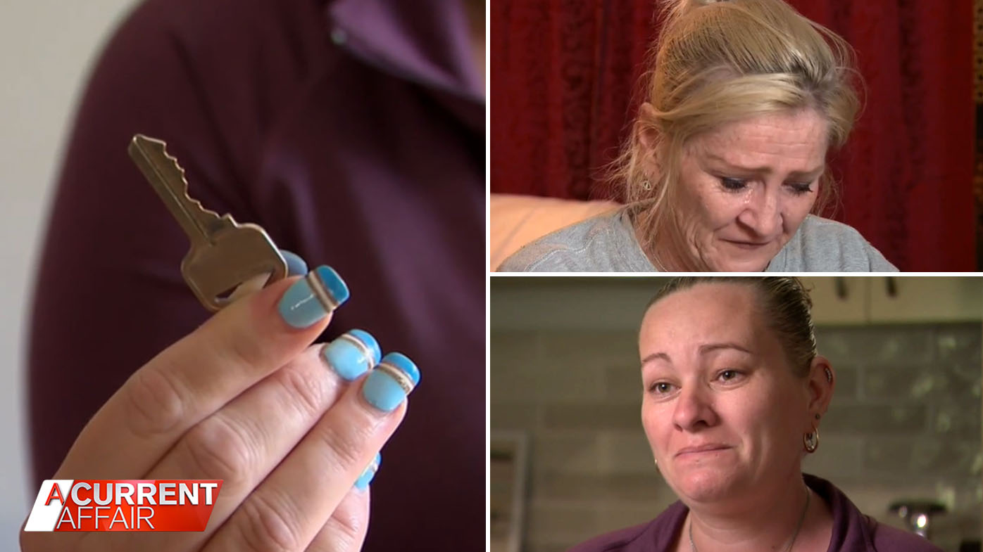 Families face homelessness after being caught up in alleged rent scam.