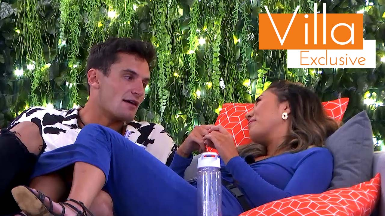 Exclusive: Tina and Mitch open up about their feelings in the Villa