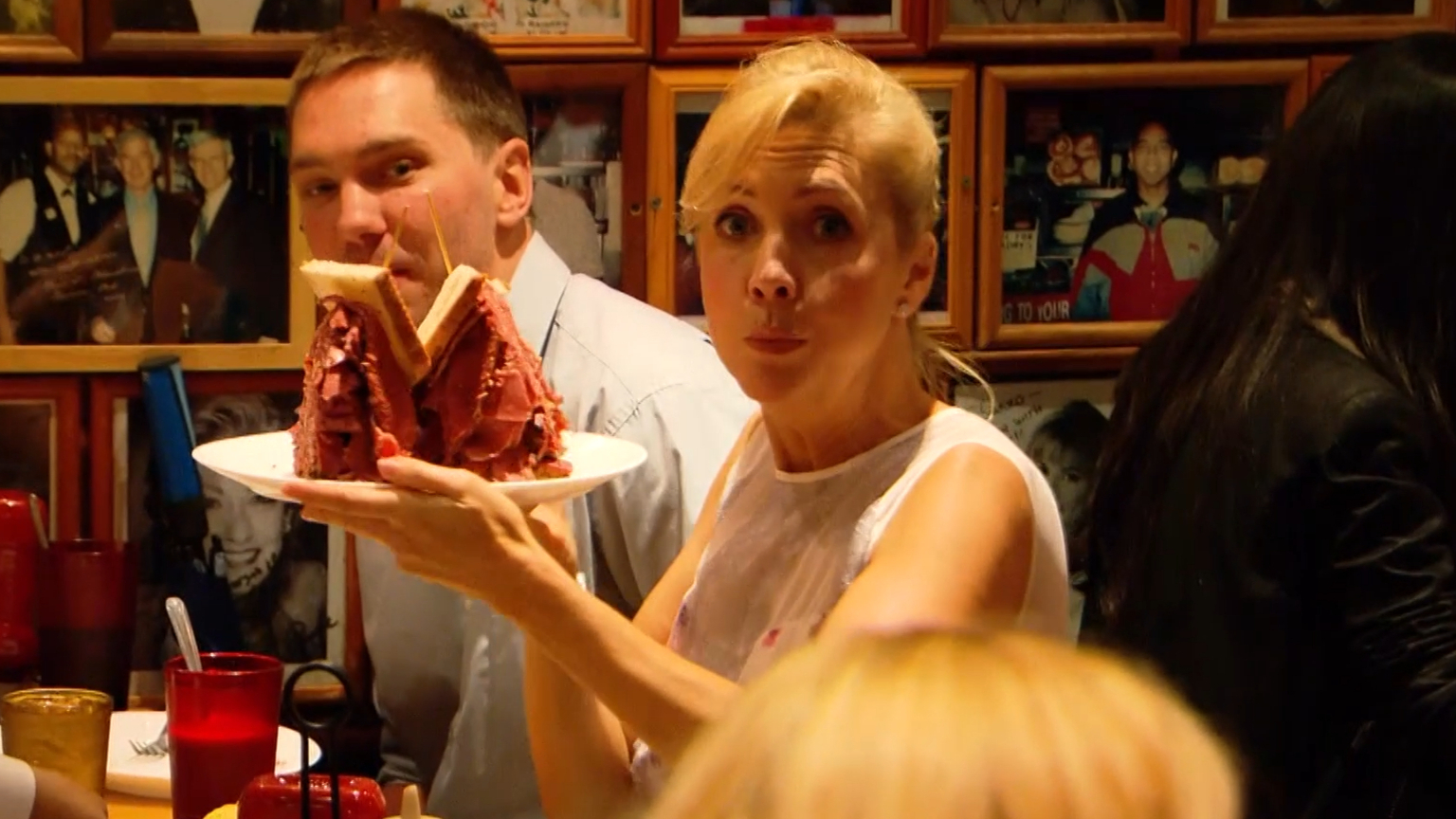 Getaway Rewind: Catriona Rowntree checks out Carnegie Deli in New York