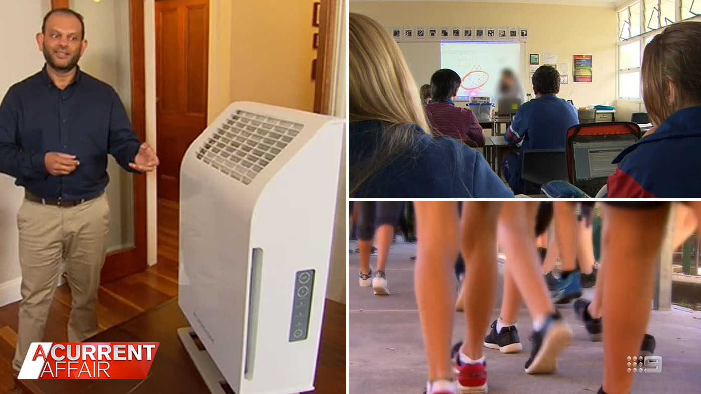 Aussie parents call for air purifier rollout as kids go back to school.